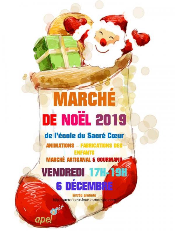 Affiche 2019 apel marche noel